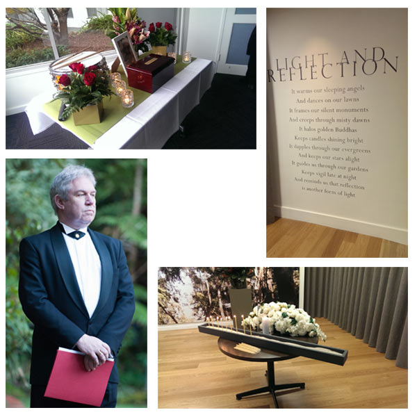Personalised funeral services held in funeral homes