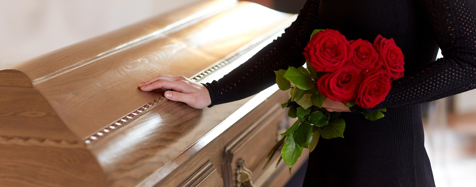 Professional funeral arrangement