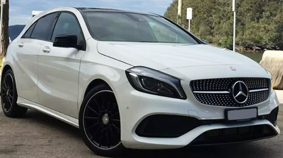 MERCEDES 4 SEATER